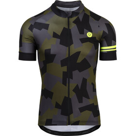 AGU Camo Tile Shortsleeve Jersey Men black